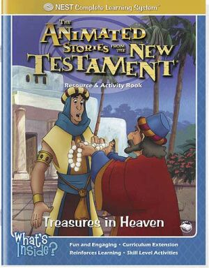 Treasures In Heaven Activity And Coloring Book - Instant Download
