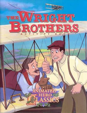 The Wright Brothers Activity And Coloring Book - Instant Download Instant Download