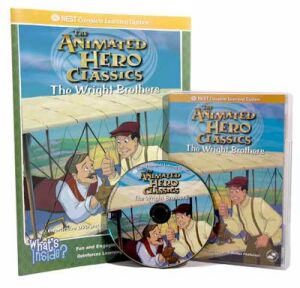 The Animated Story Of The Wright Brothers Video On Interactive DVD