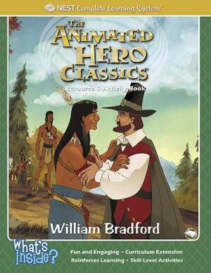 William Bradford Activity And Coloring Book Printed Book