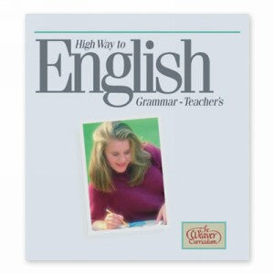 Weaver High Way To English Grammar Teacher