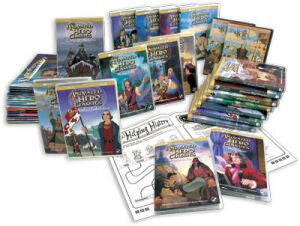 20 Animated Hero Classics Biography DVD Collection