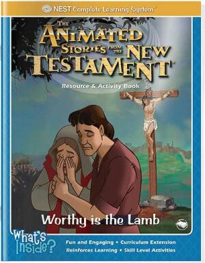 Worthy Is The Lamb Activity And Coloring Book - Instant Download
