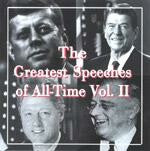 Greatest Speeches Of All Time Vol. II CD