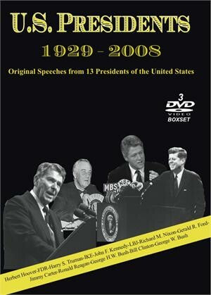 U.S. Presidents (1929 - 2008) - DVD Box Set (3 Discs)