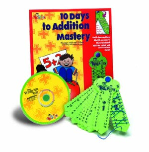 Learning Wrap Ups Addition Mastery Kit W/ CD