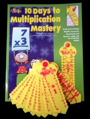 Learning Wrap Ups Multiplication Mastery Kit