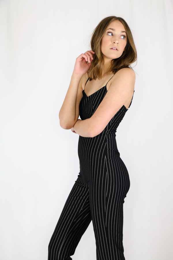 Retro Pinstripes Jumper