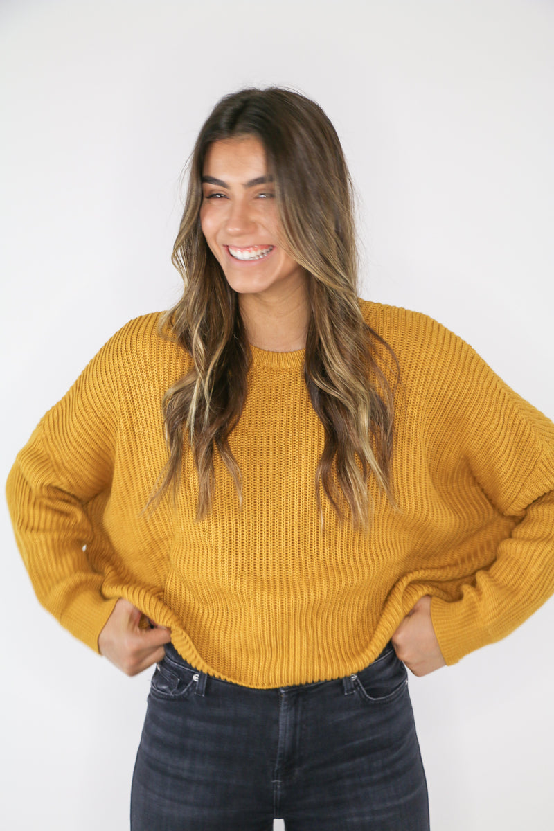 Gold Rush Sweater