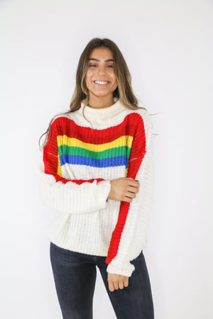End of the Rainbow Sweater