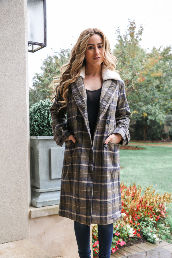Boston Prep Long Coat