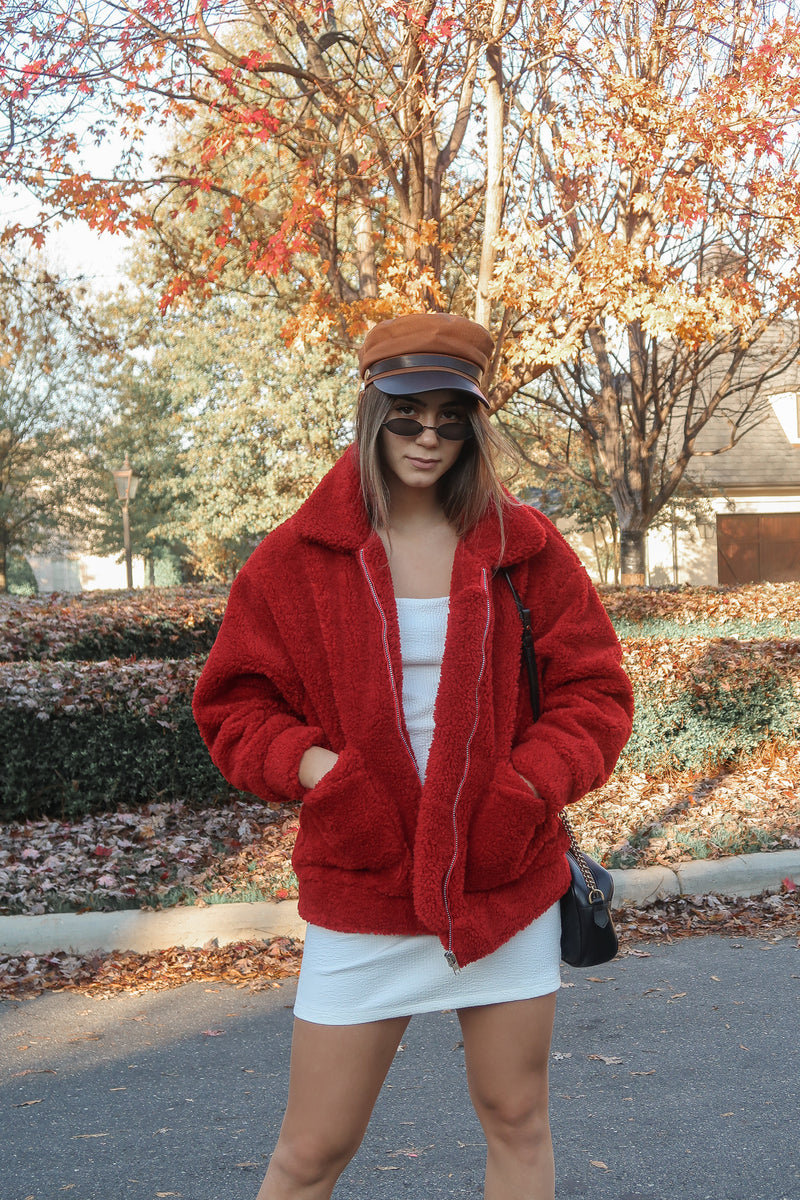 Elmo Teddy Coat