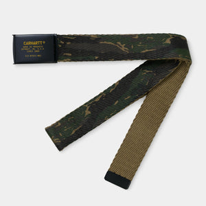 Military Printed Belt - Jungle Tiger Camo by Carhartt WIP - LONELIE STORE