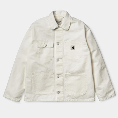 Carhartt WIP Women - Michigan Chore Coat Off White - buy Online at LONELIE STORE