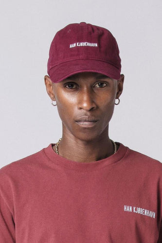 Cotton Cap - burgundy