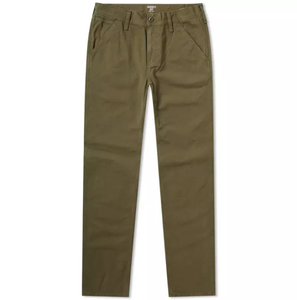 Carhartt WIP - Chalk Pant - Rover Green - buy Online at LONELIE STORE