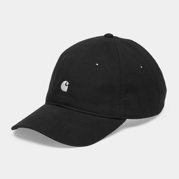 Madison Logo Cap - Black by Carhartt WIP - LONELIE STORE