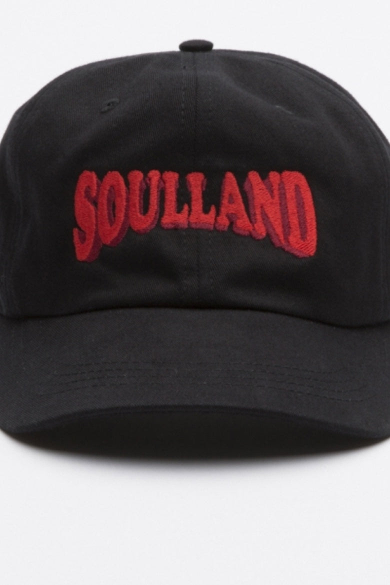 Soulland - Dad Cap Black - buy Online at LONELIE STORE