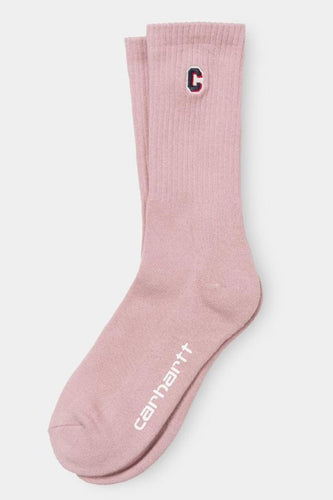 Carhartt WIP - Prior Socks soft rose - buy Online at LONELIE STORE