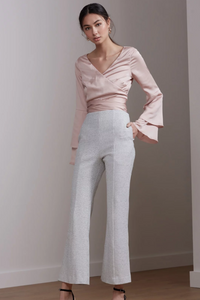 love light pant - ivory