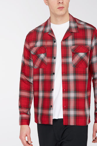 Edwin - garage shirt - red