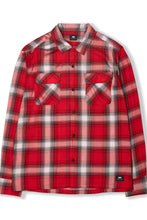 garage shirt - red