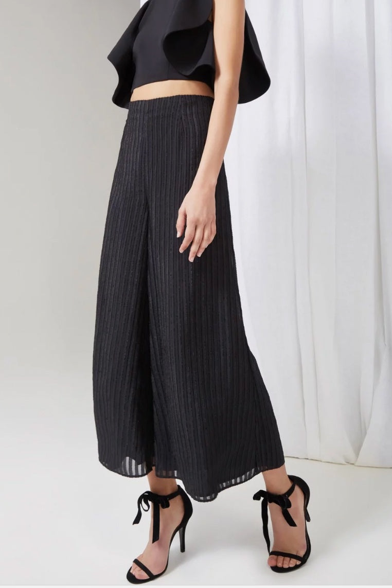 waterfall pant - black
