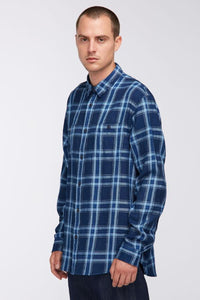 Edwin - Labour Shirt - Indigo Garment Wash