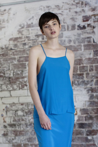 brooklyn top - diva blue