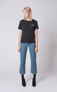 Womens Casual Tee - black