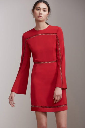 Keepsake the Label - Indulge Mini Dress - red