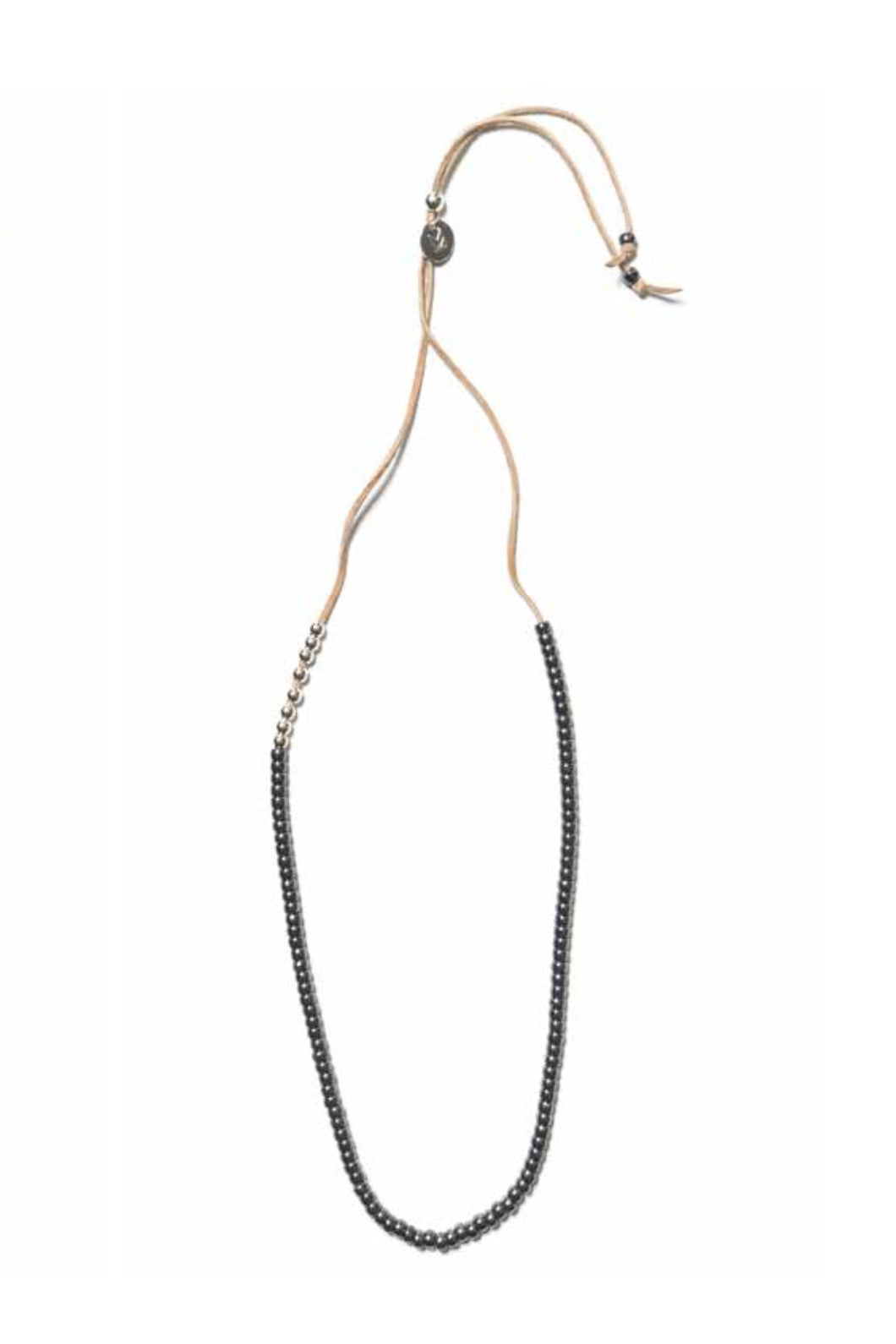 Maple - pacific necklace - charcoal