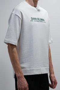 Danin Dilemma - wilson t-shirt - white