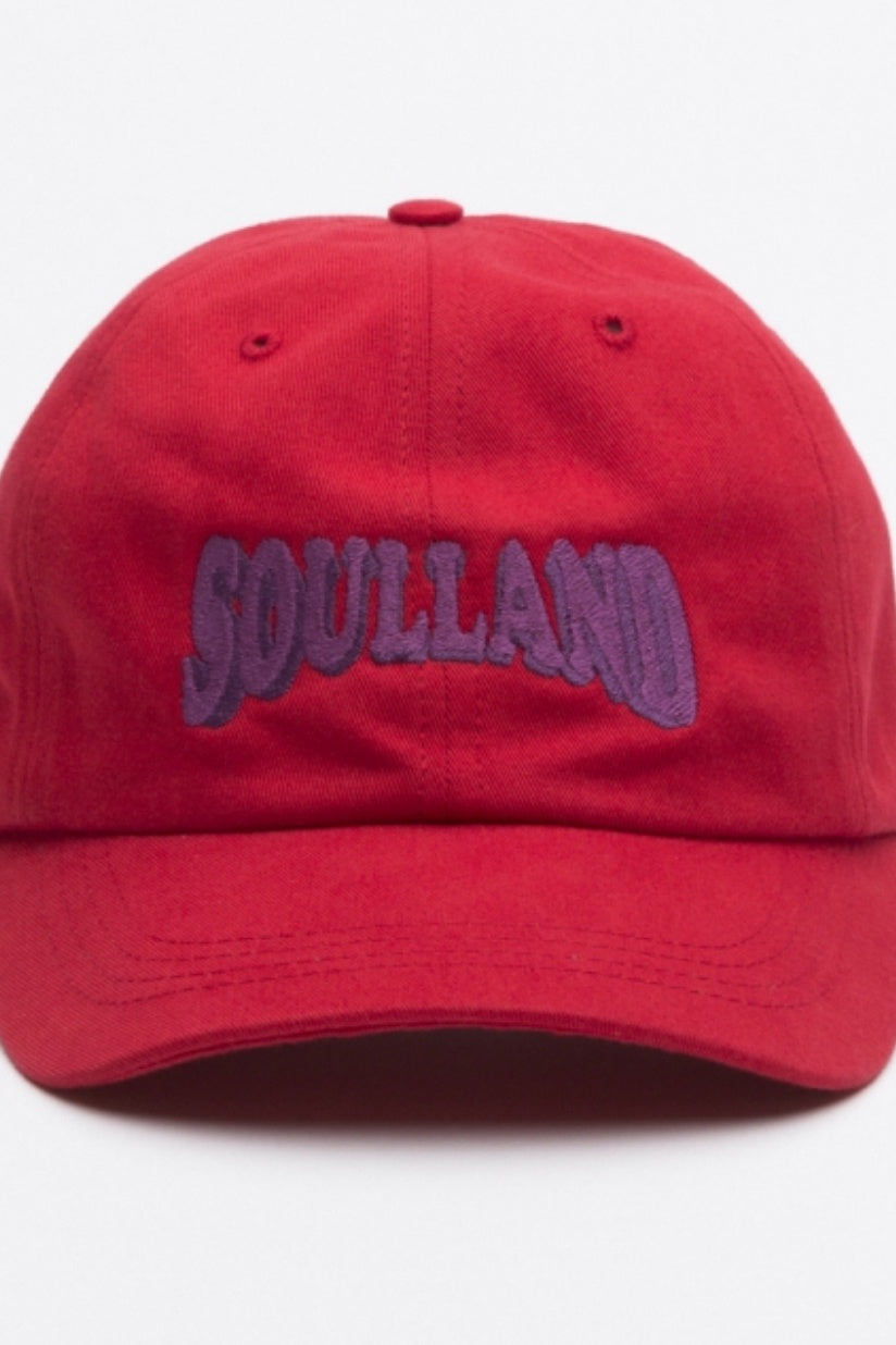 dad cap - red