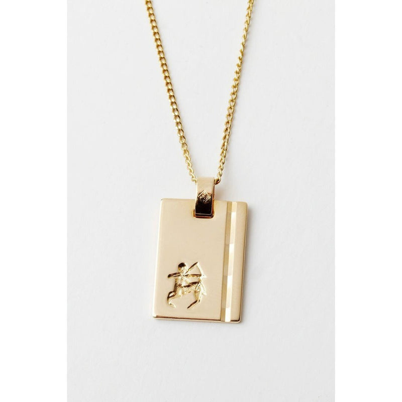 RELIQUIA GOLD STAR SIGN NECKLACE SAGITTARIUS