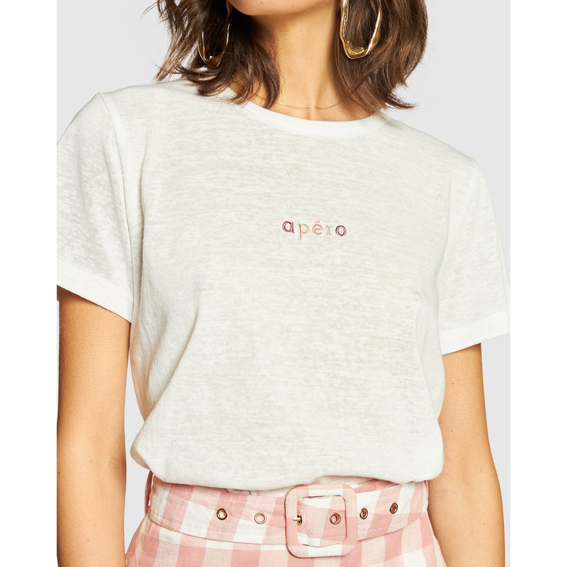 MINI EMBROIDERED FEMME TEE
