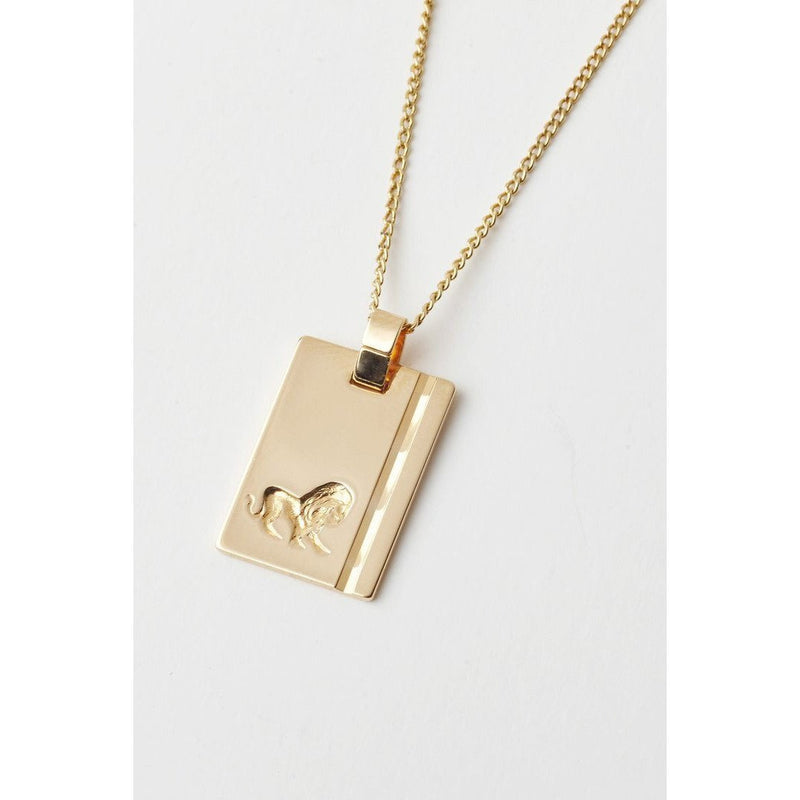 RELIQUIA GOLD STAR SIGN NECKLACE LEO