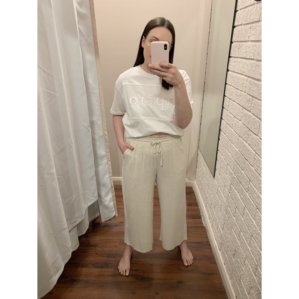 HOLLY LINEN PANT