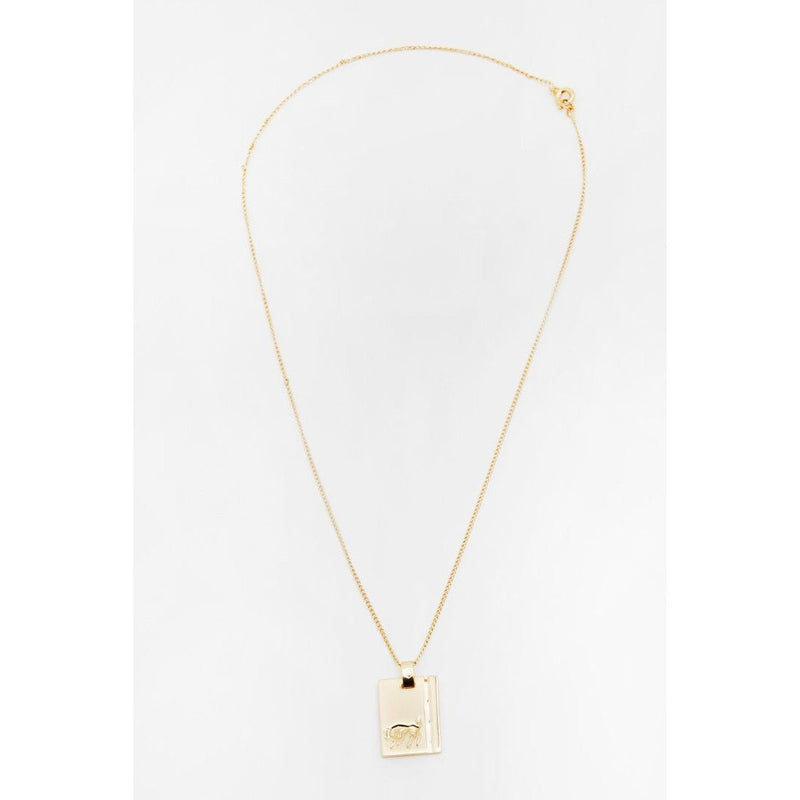 RELIQUIA GOLD STAR SIGN NECKLACE LIBRA