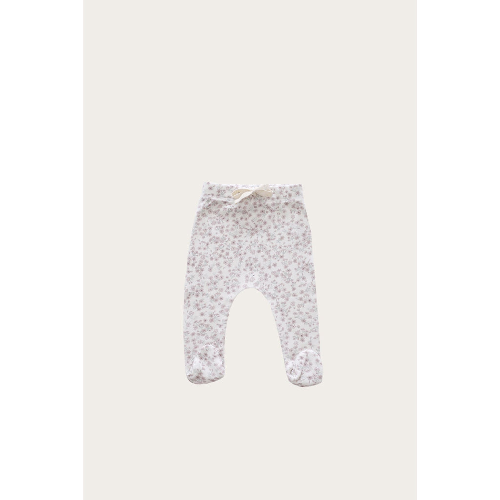 ORGANIC COTTON FOOTED PANT