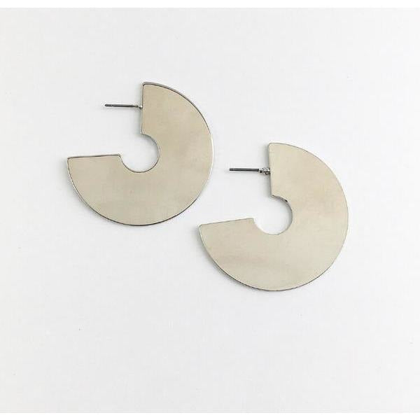 MURPHYMADE MINIMAL DISC EARRINGS