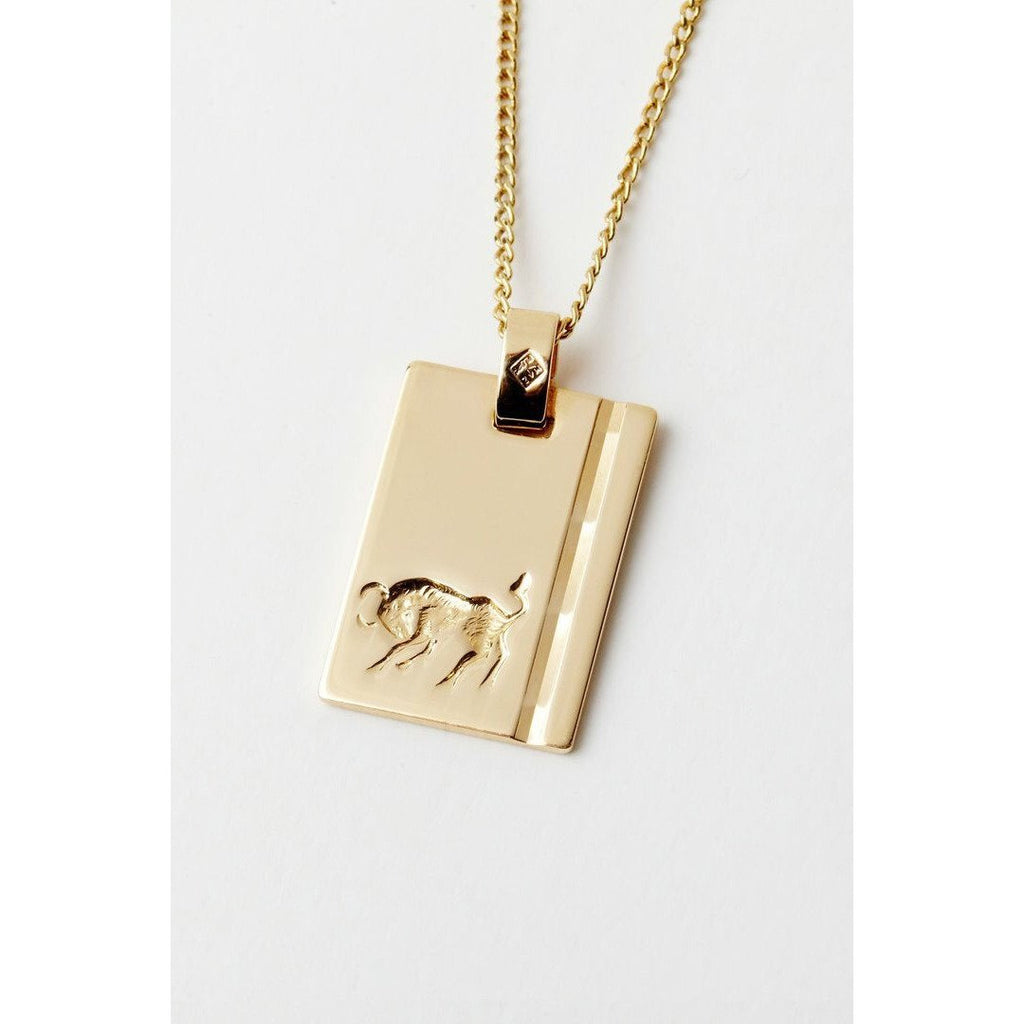 RELIQUIA GOLD STAR SIGN NECKLACE TAURUS