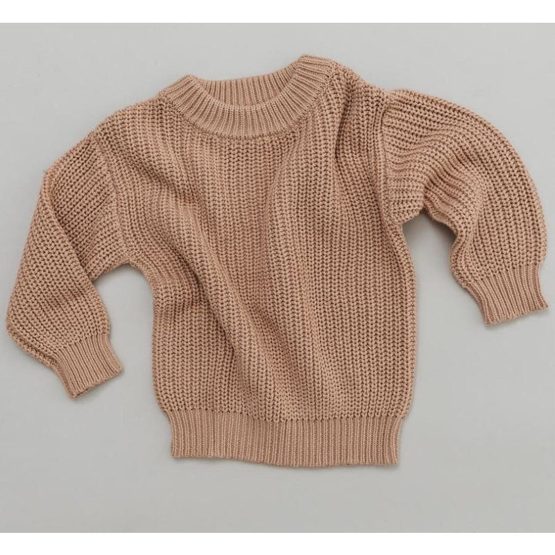 CHUNKY KNIT PULLOVER - WOMAN