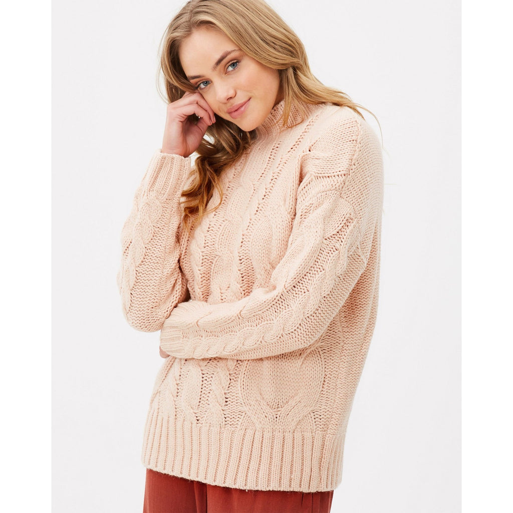 DUNE CABLE KNIT SWEATER