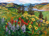 "Giclée Print of ""Mosier Wildflowers"""