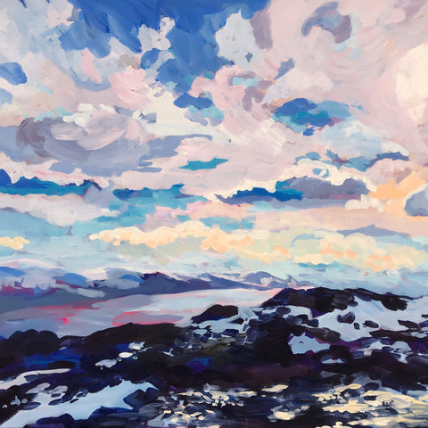 "Giclée Print of ""Big Sky Over Horsethief Butte"""