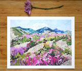 "Giclée Print of ""Abstract Mount St. Helens"""