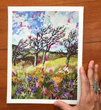 "Giclée Print of ""Memaloose Hills in the Spring"""
