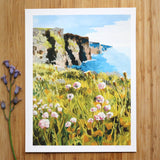 "Giclée Print of ""Cliffs of Moher"""