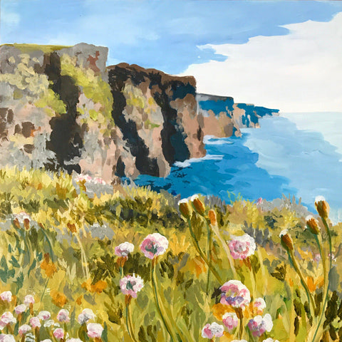 "Cliffs of Moher 18""x24"""